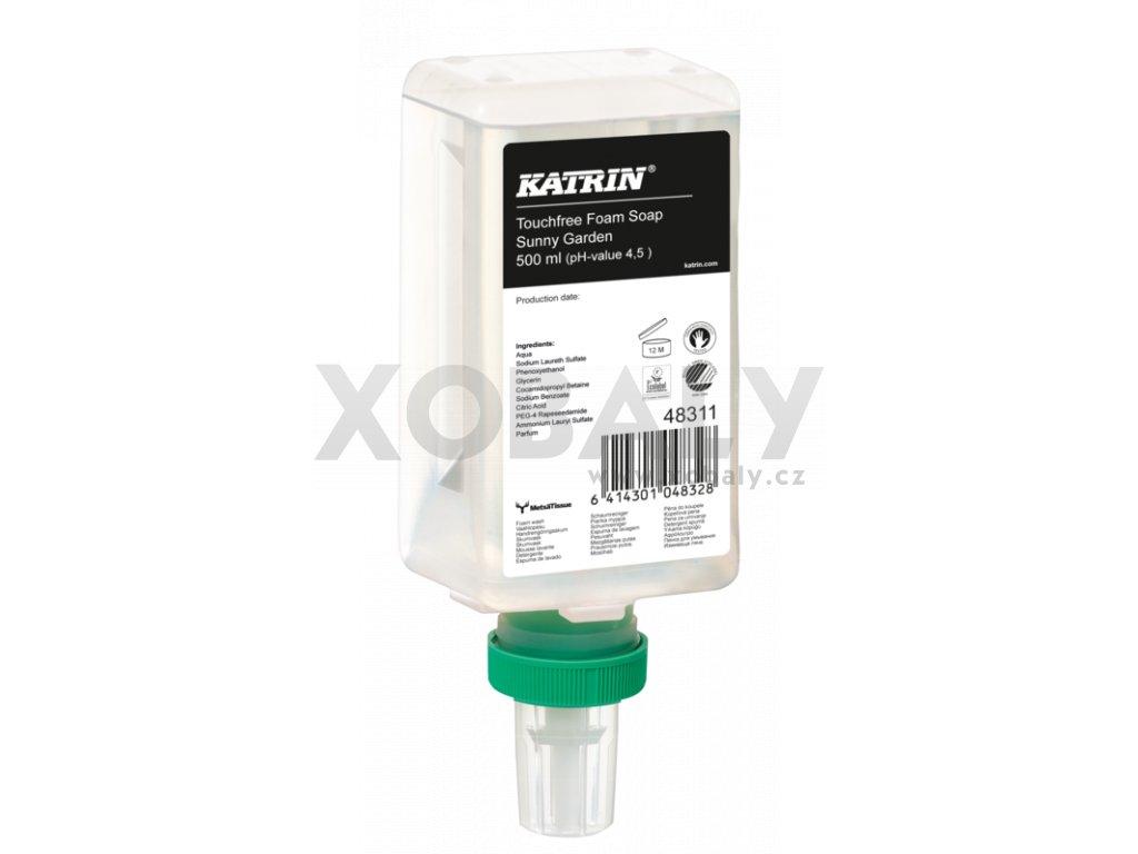 Pěnové mýdlo KATRIN Sunny Garden 500ml - senzor
