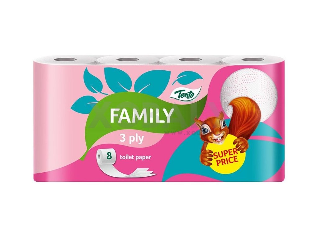 Tento family pink