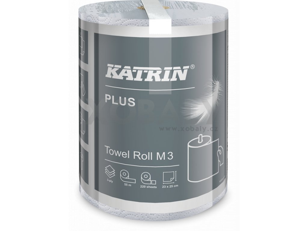 Papírová utěrka KATRIN hand towel M3