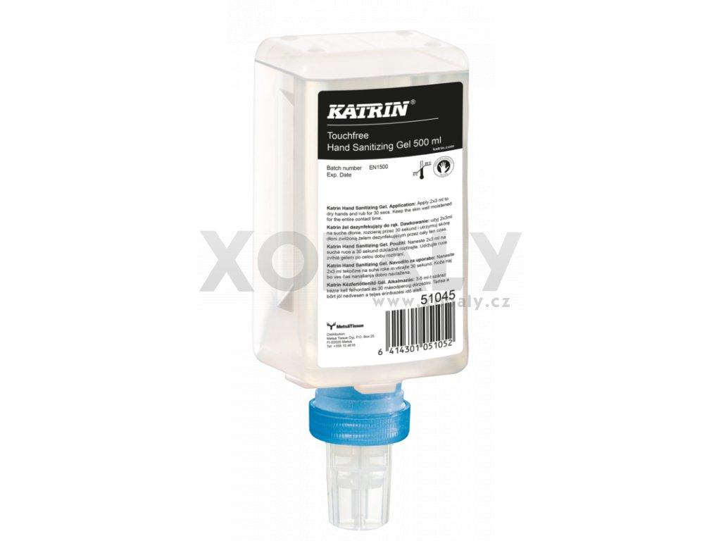 Dezinfekce gelová na ruce KATRIN 500ml - senzor