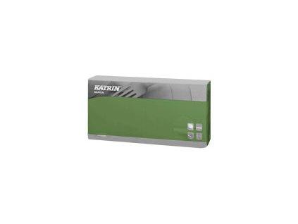 Papírové ubrousky Dinner 2-vrstvý, skládání 1/8 - 115673 - Zelená