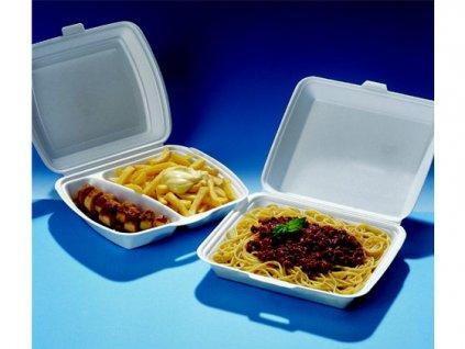 Menubox na jídlo 3-dílný (cena za 125ks)