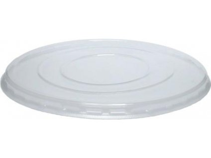 Víčko na misku na polévku plast transparent (cena za 50ks)