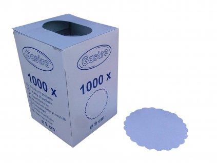 Rozetky papírové 9cm (cena za 1000ks) - 36.0035