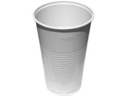 Kelímek 0,5 bílý na pivo (cena za 50ks)