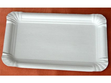 Tácek papírový č.3 (cena za 100ks) 10x16cm
