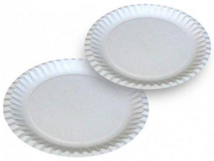 Papírový talíř 23cm