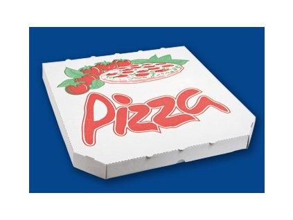 Krabice na pizzu 32x32cm POTISK (cena za 100ks)