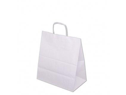 Taška papírová 400x180x390mm - bílá