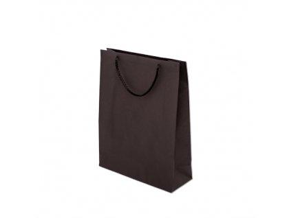 Papírové tašky barevné 240x100x320mm - černá