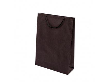 Papírové barevné tašky 300x100x400mm - černá