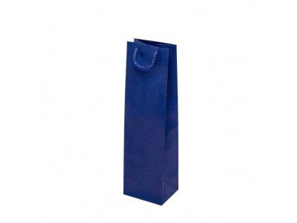 Taška papírová barevná 110x90x400mm - modrá