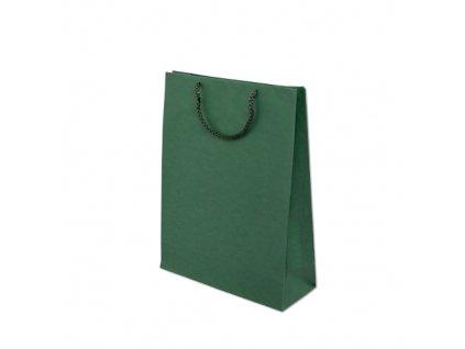 Papírové tašky barevné 240x100x320mm - zelená