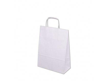 Papírová taška 240x100x320mm - bílá