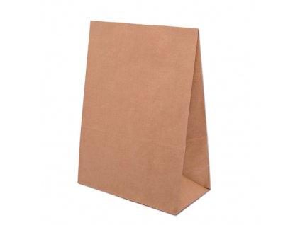 Papírová Eko taška bez uch 190x130x370mm