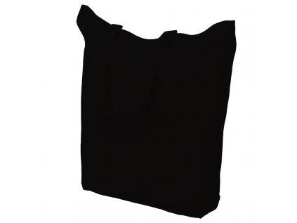 Bavlněná nákupní taška černá - 15.0035 - 390x410mm