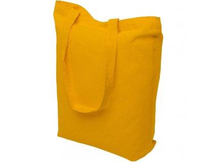 Bavlněná nákupní taška žlutá