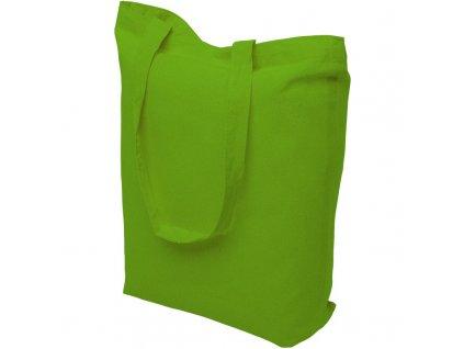 Bavlněná nákupní taška zelená - 15.0039 - 390x410mm