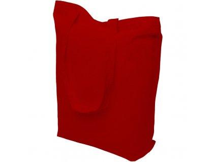 Bavlněná nákupní taška červená
