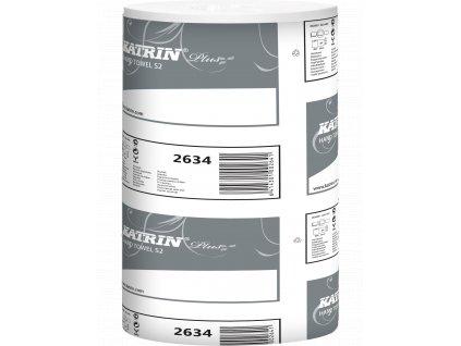 Papírový ručník v roli KATRIN PLUS S 2-PLY - 2634