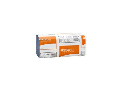 Papírové ručníky KATRIN BASIC Zig Zag Modrá - 362200