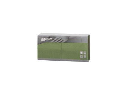 Papírové ubrousky Lunch 2-vrstvý, skládání 1/4 - 113419 - Zelená