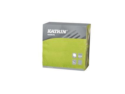 Papírové ubrousky DecoSoft (R) UNI 1/4 - 116977 - Limetka