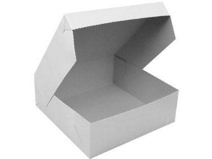 Krabice dortová 22x22cm