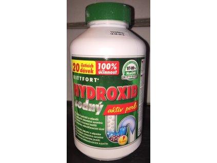 Hydroxid sodný - 20 čistících dávek