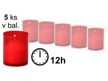 Hřbitovní svíčka malá (cena za 5ks)