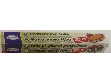 Potravinářská folie v krabičce 29cm x 30m