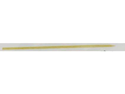 Dřevěné špejle hrocené 30cm (cena za 100ks)