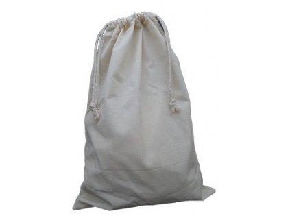 Bavlněný sáček se zatahováním 30x45cm
