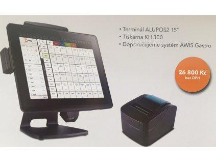 Pokladní sestava pro restaurace - ALUPOS