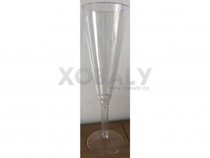 Plastová sklenička na sekt 15cl (cena za 10ks)
