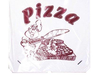krabice pizza potisk