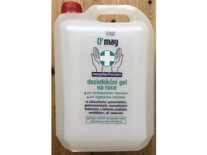 Dezinfekční gel na ruce 5l