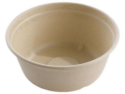 Bio miska z cukrové třtiny 500ml (cena za 125ks)