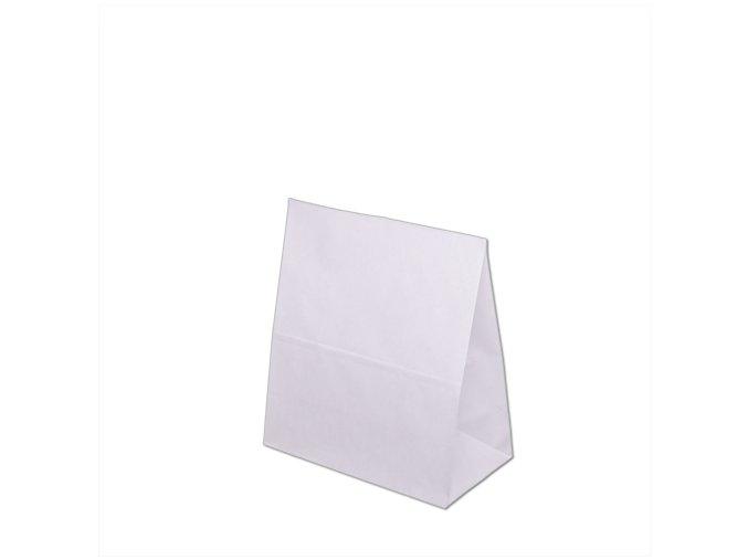 Papírová taška bez uch 260x140x300mm - Bílá