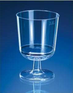 Plastová sklenička
