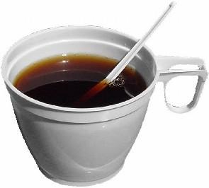 Plastový hrnek na kávu