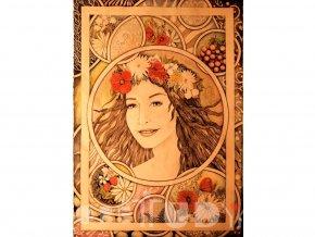 Obraz Léto z kolekce Čtyři roční období, reprodukce tištěná na plátně, 40x60 cm