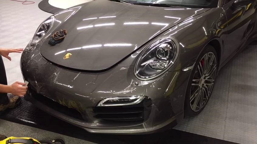 porsche_during_install_xpel_ultimate