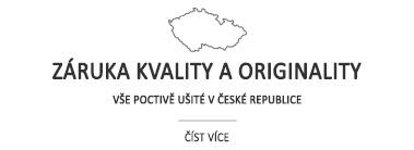 Záruka kvality a originality