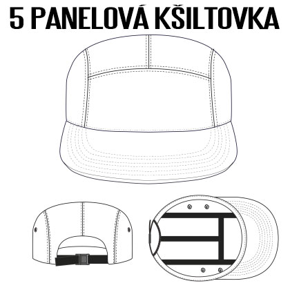 5-panelova-kšiltovka