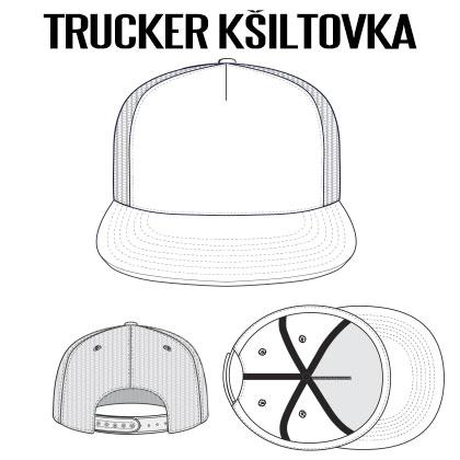 Trucker-kšiltovka