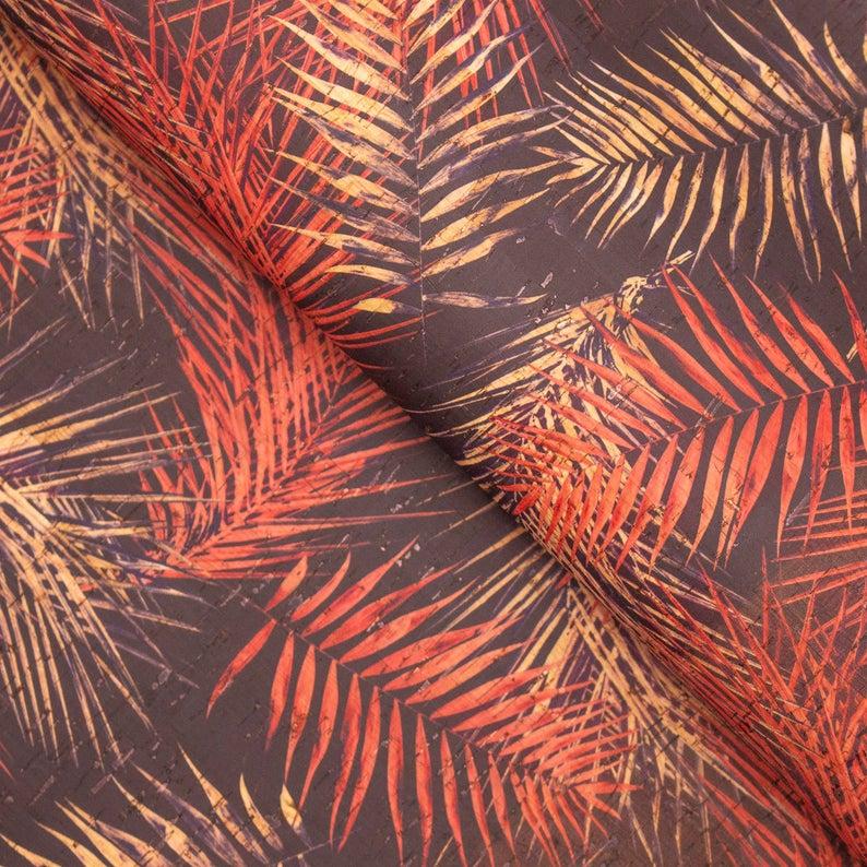 přírodní korek vzor borovice