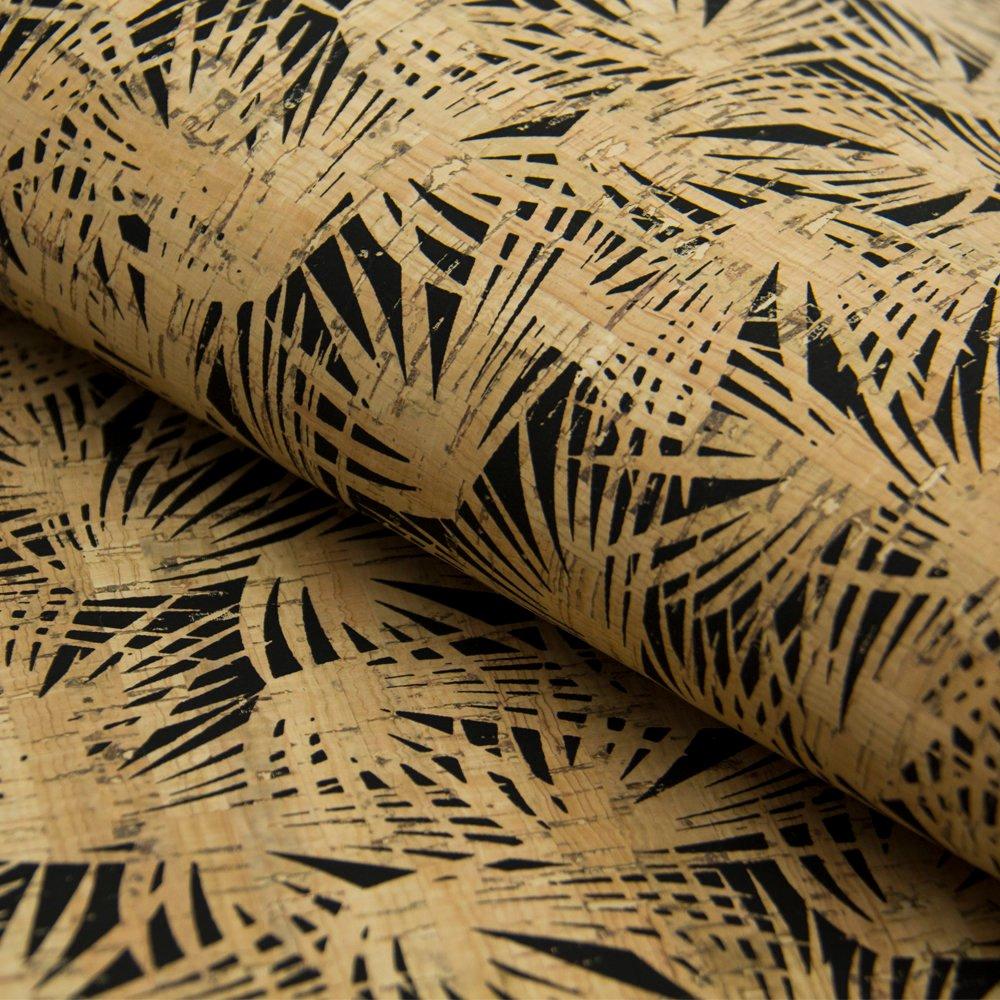 přírodní korek vzor palmy