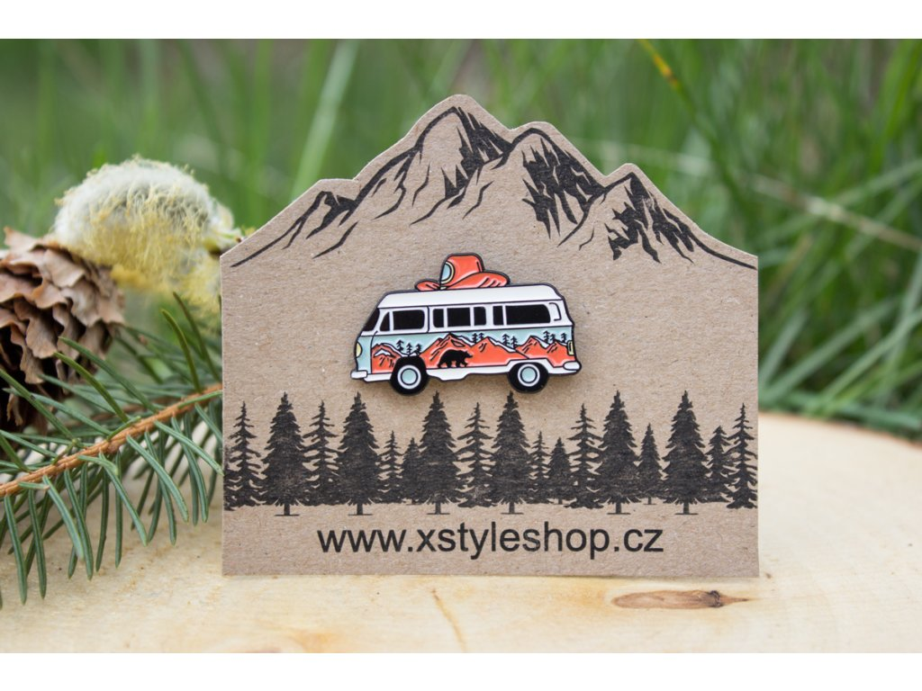 Odznak, pin Autobus