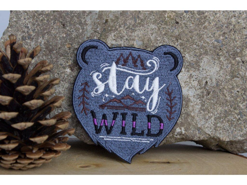 Nažehlovačka Stay - Medvídek